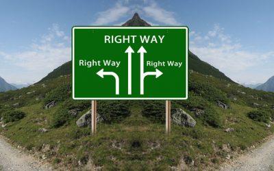 Richtige und falsche Entscheidungen in meinem Leben